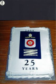 SCLHRG 25th Anniversary Cake