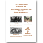 Longmoor Valley Field Meeting