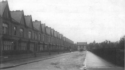 Tudor Road build between 1882 - 1914