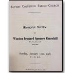 Memorial Service for Winston Churchill