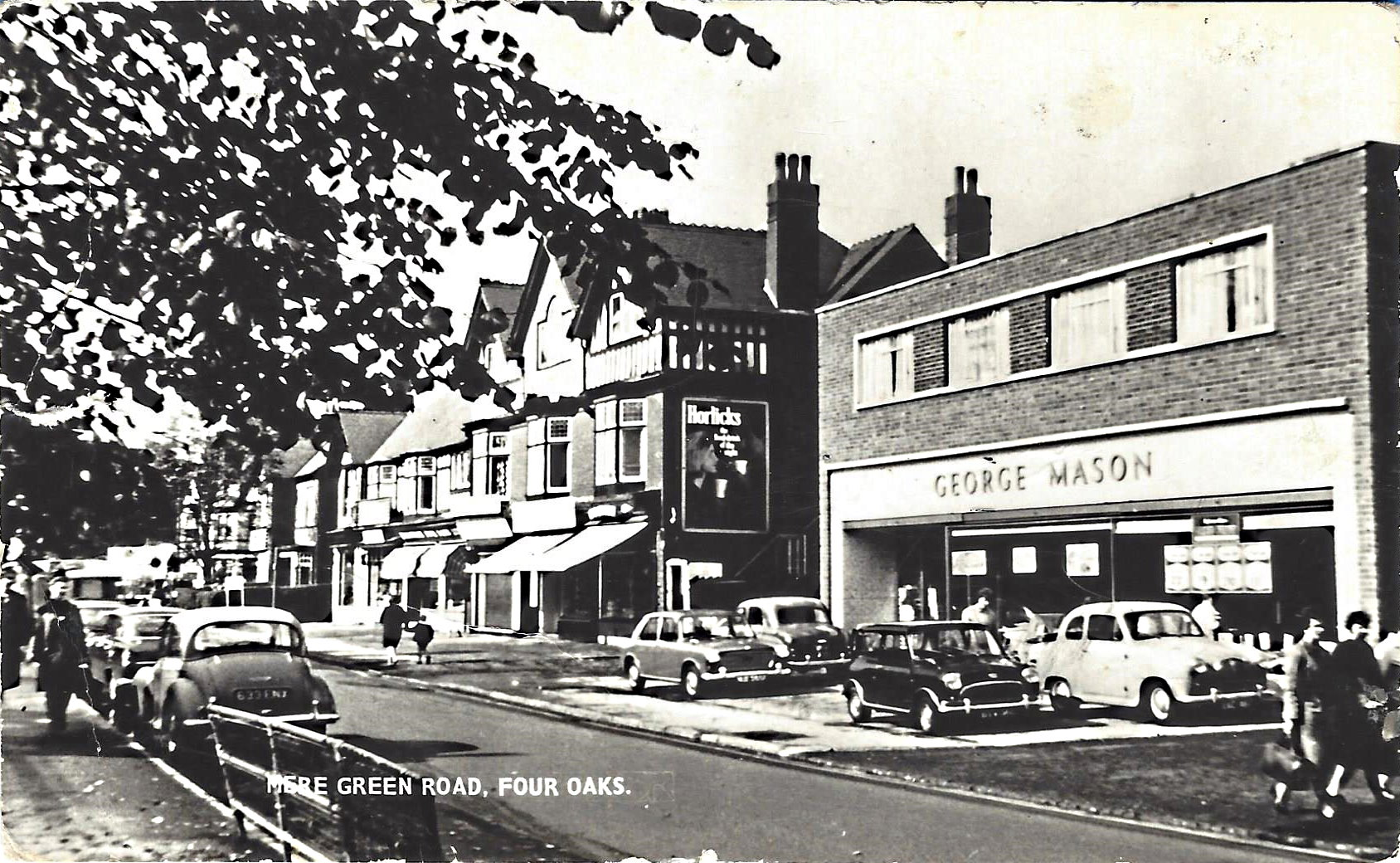 Mere Green Road Shopping Centre c.1960